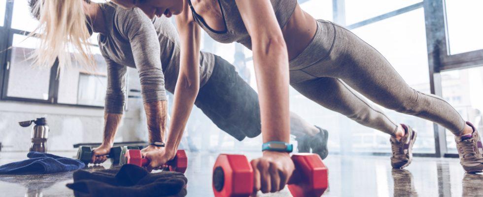 Erfolgreich im Fitnessstudio